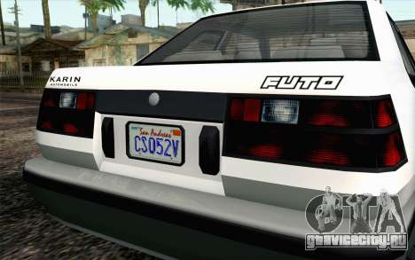 GTA 5 Karin Futo IVF для GTA San Andreas вид справа