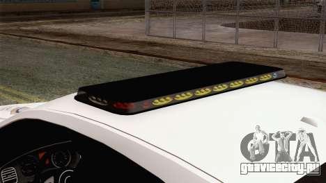 Dodge Charger SXT Premium 2014 для GTA San Andreas вид сзади