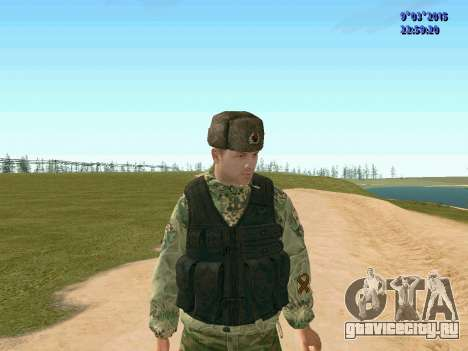 Боец из батальона Призрак для GTA San Andreas третий скриншот
