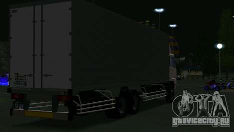 Mitsubishi Fuso The Great Box для GTA San Andreas вид справа