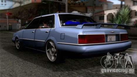 Primo GT для GTA San Andreas вид слева