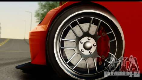GTA 5 Benefactor Feltzer SA Mobile для GTA San Andreas вид сзади