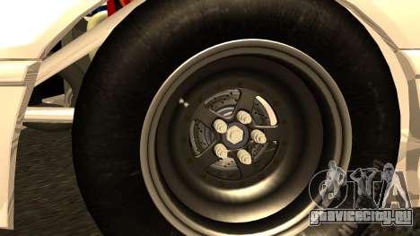 Honda CRX Dragster для GTA San Andreas вид сзади слева