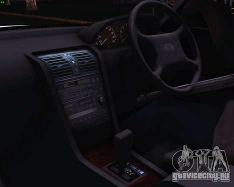 Toyota Celsior для GTA San Andreas вид сзади слева
