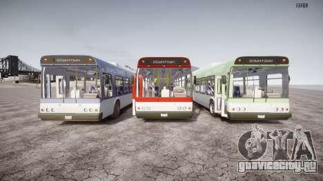 GTA 5 Bus v2 для GTA 4 вид сверху