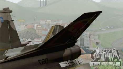 F-16 Scarface Squadron для GTA San Andreas вид сзади слева