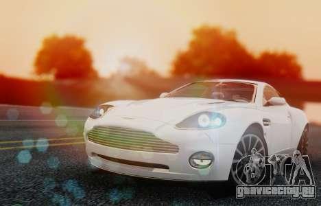 Aston Martin V12 Vanquish 2001 v1.01 для GTA San Andreas вид слева
