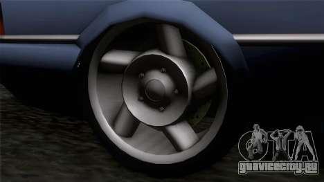 Primo GT для GTA San Andreas вид сзади слева