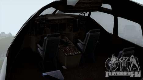 C-17A Globemaster III USAF McGuire для GTA San Andreas вид сзади