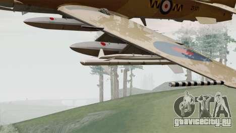 Embraer A-29B Super Tucano RAF Desert для GTA San Andreas вид справа