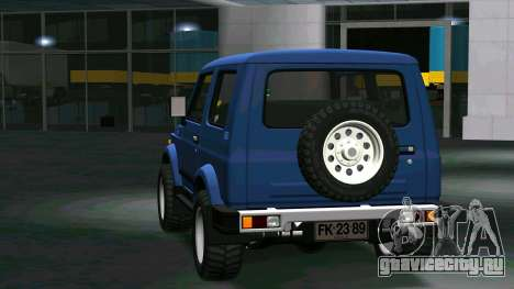 Suzuki Samurai для GTA San Andreas вид справа