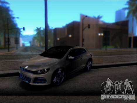 Volkswagen Scirocco Tunable для GTA San Andreas вид справа