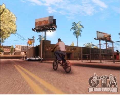 ENB Gentile v2.0 для GTA San Andreas третий скриншот