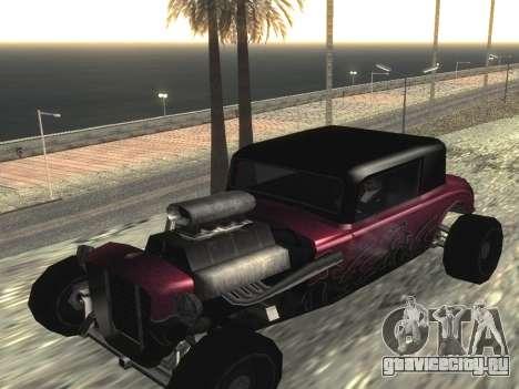 Обновлённый Hotknife для GTA San Andreas вид слева