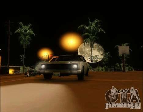 ENB Gentile v2.0 для GTA San Andreas четвёртый скриншот