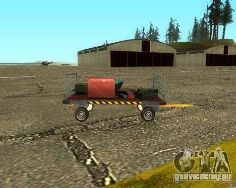 New Bagbox B для GTA San Andreas вид сзади слева