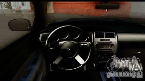 Dodge Charger SRT8 2006 Tuning для GTA San Andreas вид изнутри