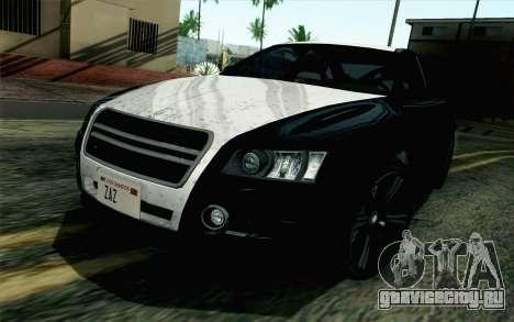 GTA 5 Karin Kuruma v2 SA Mobile для GTA San Andreas