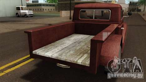 GTA 5 Bravado Rat-Loader IVF для GTA San Andreas вид сзади