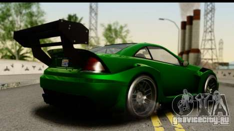 GTA 5 Benefactor Feltzer SA Mobile для GTA San Andreas вид слева