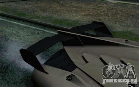 NFS Rivals Lamborghini Veneno для GTA San Andreas вид сзади