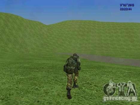 Боец из батальона Спарта для GTA San Andreas шестой скриншот