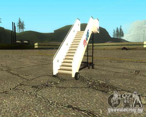 New Tugstair Fly US для GTA San Andreas вид сзади слева