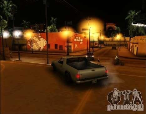 ENB Gentile v2.0 для GTA San Andreas пятый скриншот