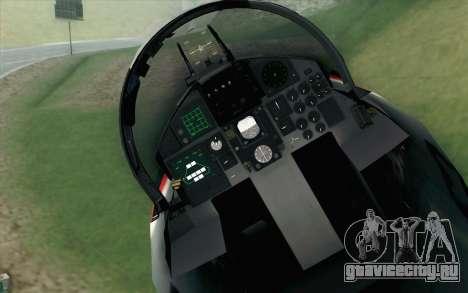 F-15J Kai 60th Anniversary of JASDF для GTA San Andreas вид сзади