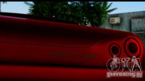 Elegy by Molniya для GTA San Andreas вид сзади слева