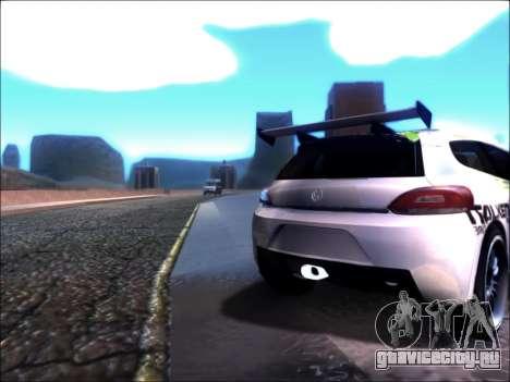 Volkswagen Scirocco Tunable для GTA San Andreas вид слева