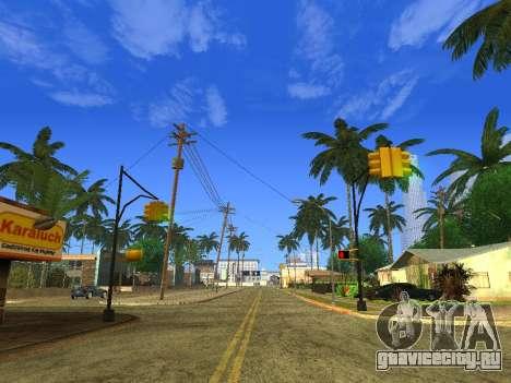 Beautiful Timecyc для GTA San Andreas