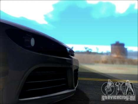 Volkswagen Scirocco Tunable для GTA San Andreas вид сверху