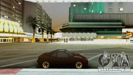 Toyota MR2 для GTA San Andreas вид слева