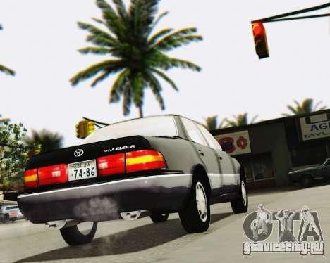 Toyota Celsior для GTA San Andreas вид сбоку