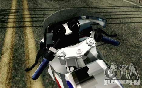 Yamaha RZR 135 Drag для GTA San Andreas вид сзади