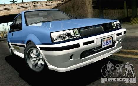 GTA 5 Karin Futo для GTA San Andreas