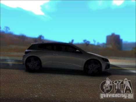 Volkswagen Scirocco Tunable для GTA San Andreas вид сзади