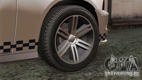 Dodge Charger SXT Premium 2014 для GTA San Andreas вид сзади слева