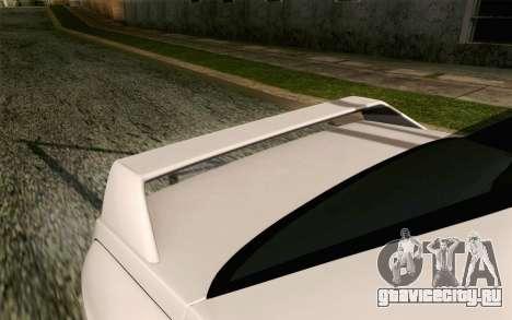 BMW M3 E30 2015 для GTA San Andreas вид сзади