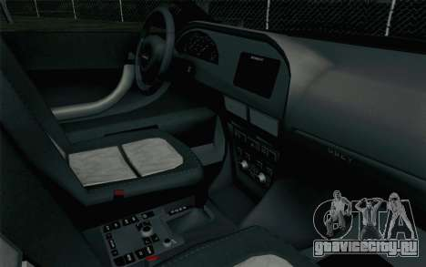 GTA 5 Karin Kuruma v2 для GTA San Andreas вид справа