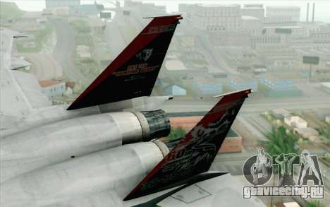 F-15J Kai 60th Anniversary of JASDF для GTA San Andreas вид сзади слева