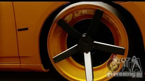 Dodge Charger SRT8 2006 Tuning для GTA San Andreas вид сзади