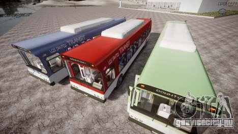 GTA 5 Bus v2 для GTA 4 двигатель