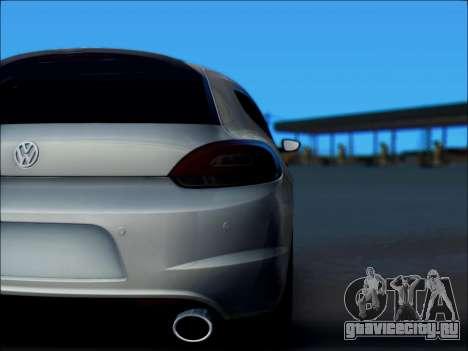 Volkswagen Scirocco Tunable для GTA San Andreas вид сбоку