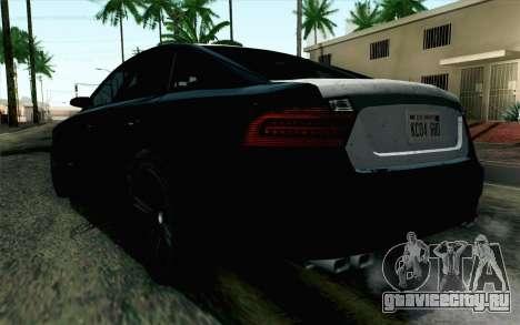 GTA 5 Karin Kuruma v2 SA Mobile для GTA San Andreas вид слева