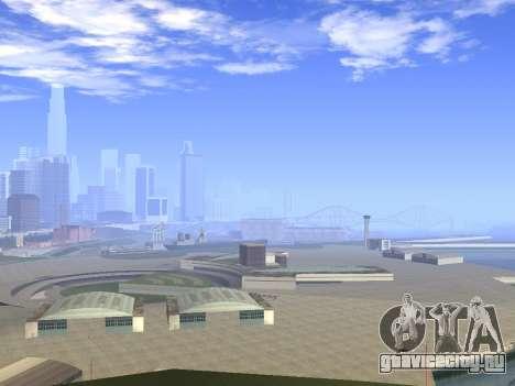 Beautiful Timecyc для GTA San Andreas третий скриншот