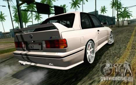 BMW M3 E30 2015 для GTA San Andreas вид слева