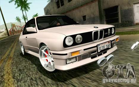 BMW M3 E30 2015 для GTA San Andreas