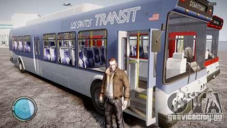 GTA 5 Bus v2 для GTA 4 вид сбоку